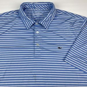Vineyard Vines Men's Short Sleeve Polo Size XL
